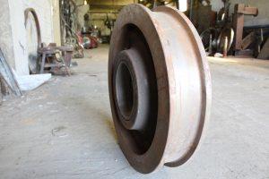 Восстановленное крановое колесо
