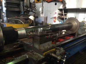 Механическа я обработка вала после восстановительной наплавки