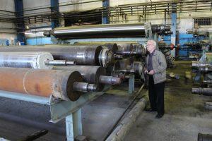 Ремонт валов бумагоделательных машин